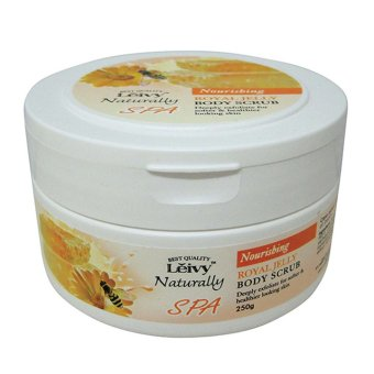 Harga Leivy SPA Body Scrub Royal Jelly - 250gr