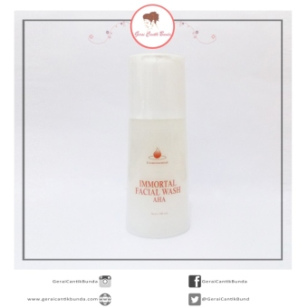 Harga Facial Wash AHA Immortal