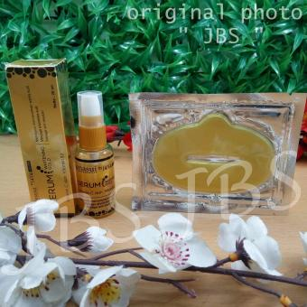 JBS Collagen Lip Mask - Masker Bibir - Serum Perawatan Kulit Wajah - Serum Gold