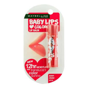 Harga Maybelline Baby Lips Love Color Berry