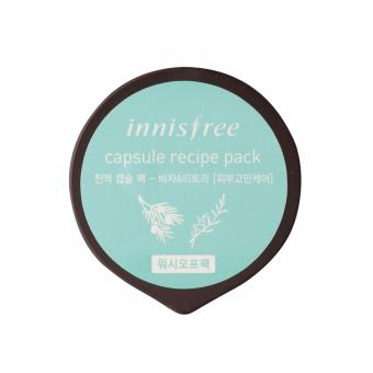 Harga [Innisfree] Capsule Recipe pack Bija and Tea tree(2016) 10ml