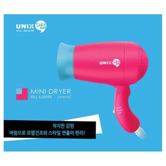 Unix Korean Best Selling 400W Portable and Foldable Mini Takeout Hair Dryer. UN-B1255 with Negative Ion - intl
