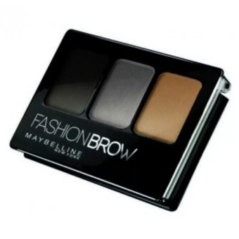 Harga Maybelline Fashion Brow 3D Brow & Nose Palette Dark Grey As