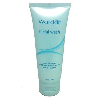 Harga Wardah Facial Wash 60 ml