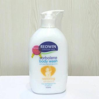 Harga Redwin sorbolene Body Wash 500ml
