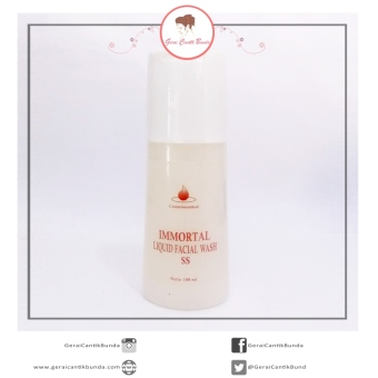 Harga Liquid Facial Wash SS Immortal