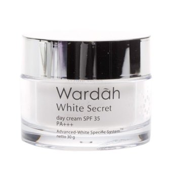 Harga Wardah White Secret Day Cream SPF 35 - 30g