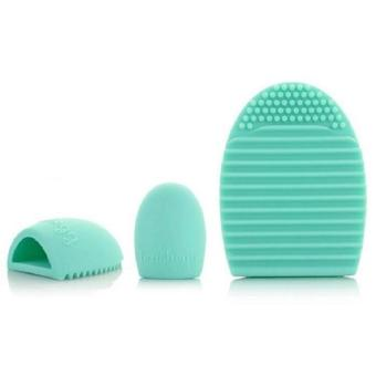 Brush Egg Cleaning Brush Tool Beauty Makeup Tools - Mint