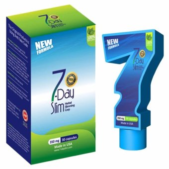 Harga 7 Days Slim Versi SK (Seven Day Slim ) Original - 30 Kapsul @350mg