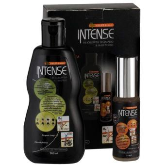 Harga Intense Ultimate Shampoo + Tonic