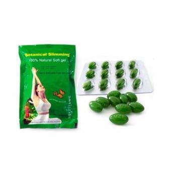 Meizitang Botanical Slimming Capsules - Obat Pelangsing Diet Herbal