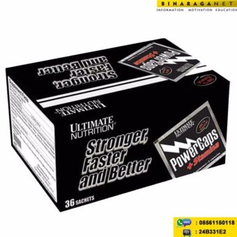 Harga Ultimate Nutrition - Power Caps 36 Sachet