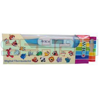 Avico Termometer Digital Elastis - Thermometer Digital Fleksibel - Biru