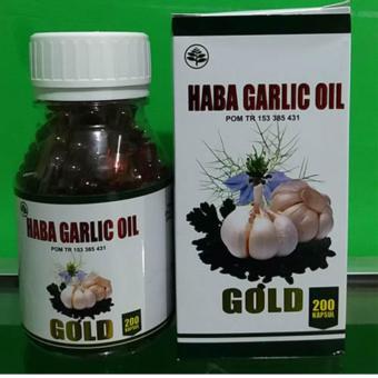 ... Kharisma November Source · Haba Garlic Oil Gold Bawang Putih 200 kapsul