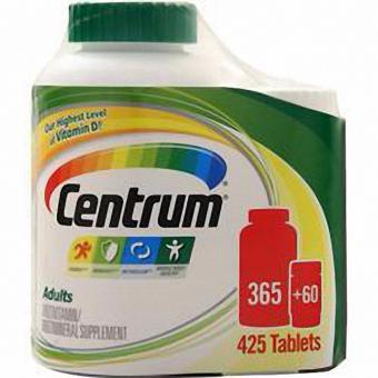 Harga Centrum Adults Under 50 - 365 + 60 Tabs