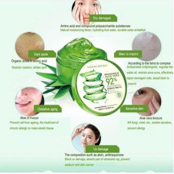 Harga Nature Republic Aloevera 92% Soothing Gel