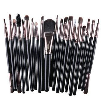 Harga Santorini Foundation Eyeshadow Eyeliner Lip Makeup Brushes andApplicators Cosmetic Tool Soft 20 Pcs