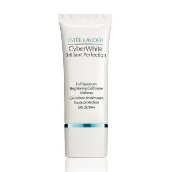 Harga Estee Lauder Cyber White Brilliant Perfection Gel Creme Make up SPF 21PA+ # 03 Cool Vanilla 5ml