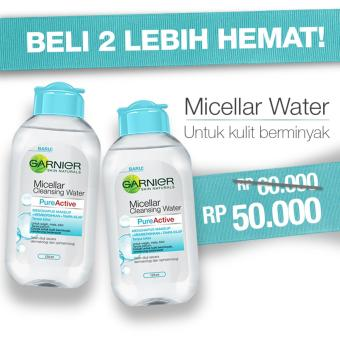 Harga Micellar Water Pure Active Special Price Kit