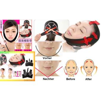 Harga 3D Shape Oval Face Slimming Belt Face Lift Up Belt Penirus Peruncing Wajah Muka - size L