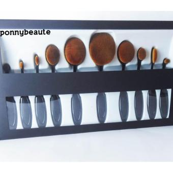 Harga Oval Make Up Brush Classic Set 10 Pcs (WITH BOX)