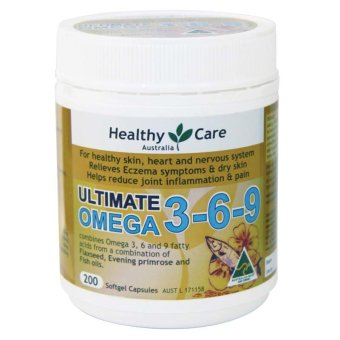 Harga Healthy Care Ultimate Omega 3-6-9 - 200 Capsules