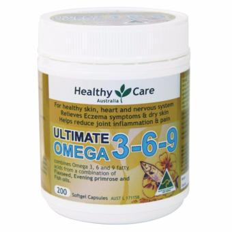 Harga Healthy Care Ultimate Omega 3-6-9 - 200 Kapsul