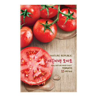 Harga Nature Republic Real Nature Mask Sheet/ Tomato 23ml