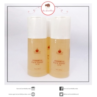 Harga Immortal - Face Tonic Acne Immortal