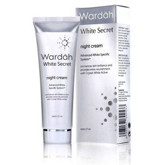 Harga Wardah White Secret Night Cream SPF 35 - 17ml
