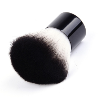 Harga Yika Foundation Face Eyes Powder Makeup Blusher Brush (Black)