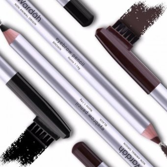 Harga Wardah Eyebrow Pencil Black