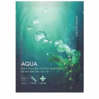 Harga Nature Republic Aqua Collagen Solution Mask Sheet