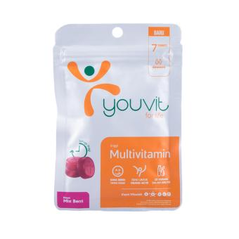 Harga YOUVIT Gummy Multivitamin 4 Pack - 28 Gummy