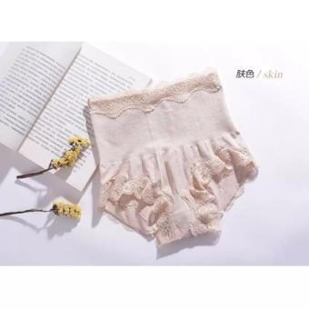Munafie Slim Pant Celana Korset (All Size ) - New Model 3rd Generation - Cream