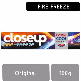 Harga Closeup Pasta Gigi Fire Freeze 160g