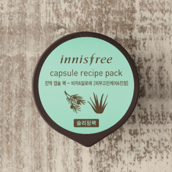 Harga Innisfree Capsule Recipe Pack - Sleeping Pack - Bija And Aloe