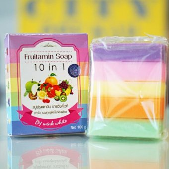 Harga Fruitamin Soap 10 in 1 by Wink White Original