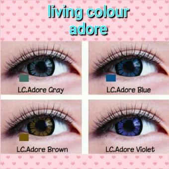 Harga SOFTLENS LIVING COLOR 1 TONE ADORE ANGEL LOVELY / SOFT LENS COLOUR - Blue