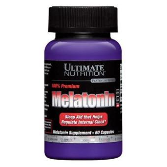 Harga Ultimate Nutrition Melatonin - 60 Capsules