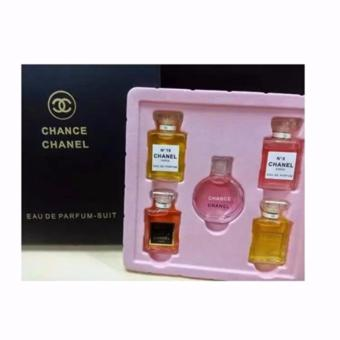 Harga Parfum Channel Mini Set Branded Import - 5 botol 10ml