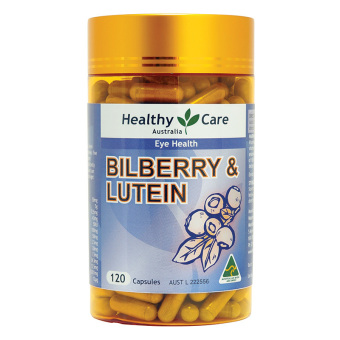 Harga Healthy Care Bilberry & Lutein -120 Kapsul