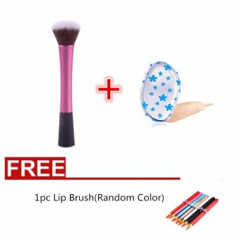 Harga La Vie 2#Concealer Dense Powder Blush Brush + Silicone Puff + Lip Brush