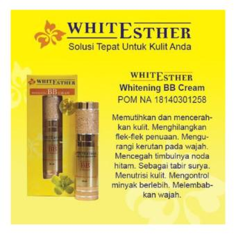 Harga White Esther Whitening Bb Cream / Pom Na 18140301258