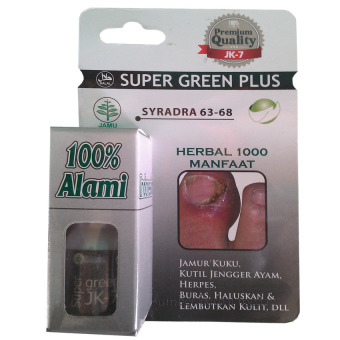 Harga Super Green Plus JK-7 - 10 ml