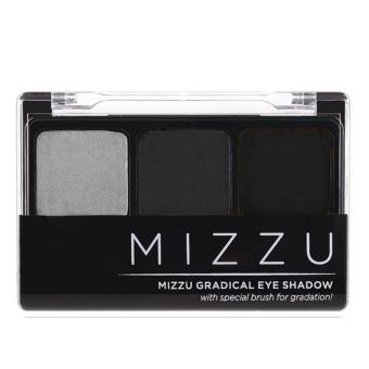 Harga Mizzu Gradical Eye Shadow (Smoky Charcoal) - Warna Pigmented Efek Smoky Eyes Eyeshadow