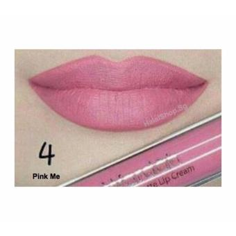 Harga Wardah exclusive matte lip cream/wardah lipstick - 04 Pink Me