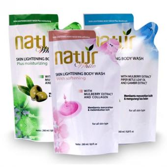 Harga Natur Body Wash 260 ml
