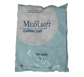 Harga Medisoft - Medisoft Cotton Ball Kapas Bola [2 Pack]