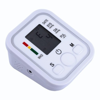 Harga Blood Pressure Monitor Automatic Wrist Blood Pressure Electronic Monitor Heart Rate Detection - intl